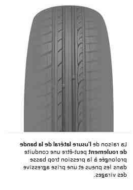 Où mettre les pneus les plus usés ?