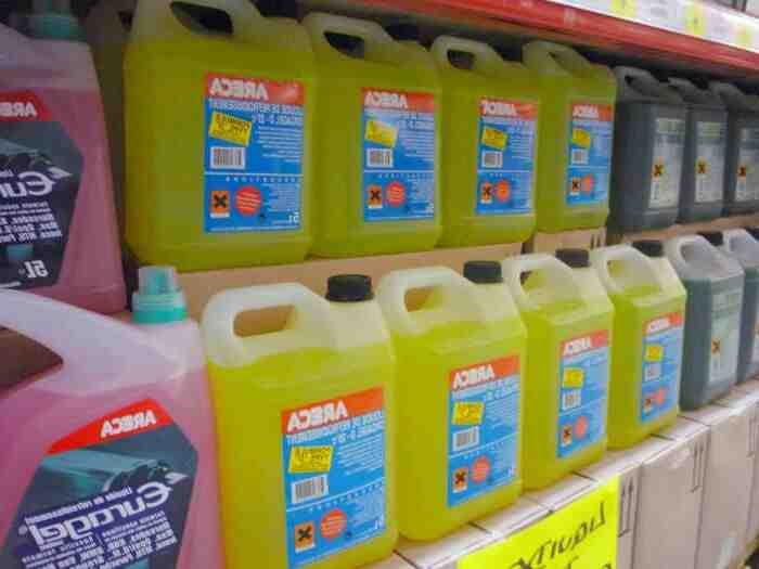 Où se débarrasser du liquide de refroidissement ?